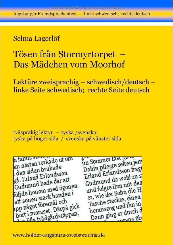 Titelseite; Das Mädchen vom Moorhof